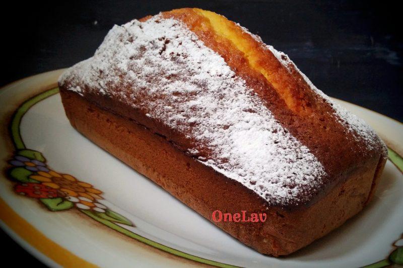 Plumcake all'olio e arancia del Maestro Iginio Massari