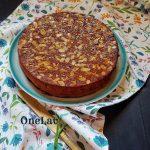 torta caprese con olio di Montersino