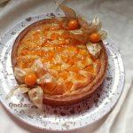 torta con frangipane e frutta di Knam