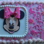 Torta di compleanno Minnie