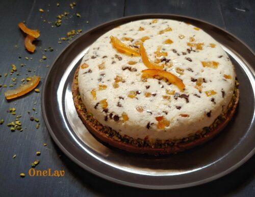 Cheesecake cannolo siciliano senza cottura