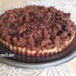 sbriciolata al cacao con ricotta e marmellata