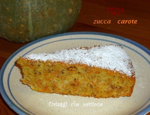 Torta zucca o carote, ricetta