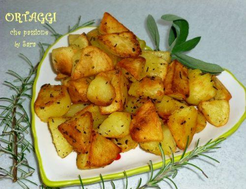 Patate croccanti in padella, ricetta