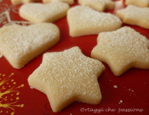 Biscotti White Christmas, biscotti di Natale