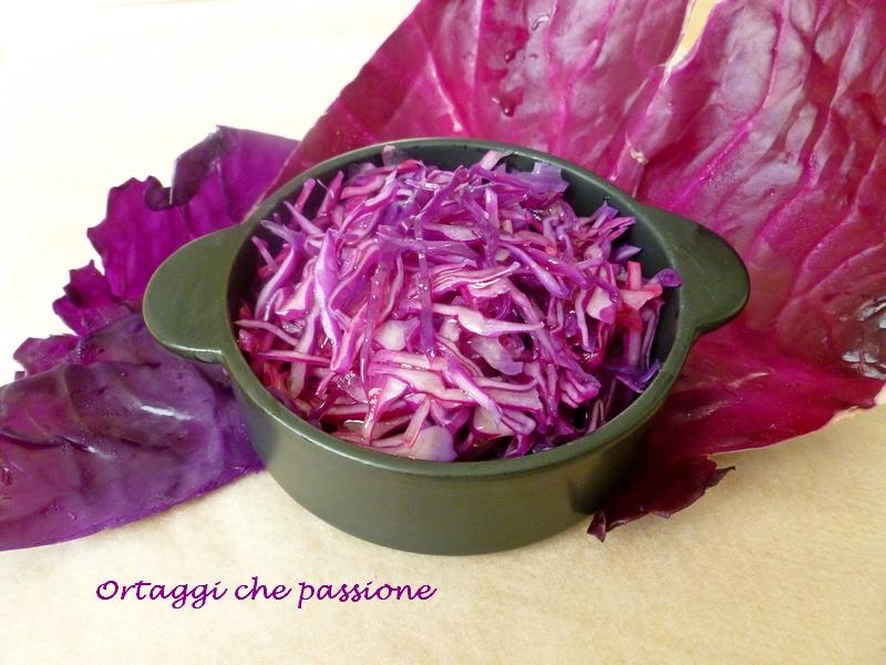 Cavolo rosso sbollentato ortaggi che passione by Sara