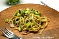 Bavette champignon e zucchine