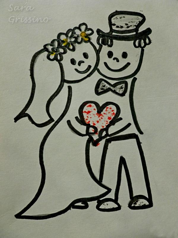 T shirt sposi ortaggi che passione for Disegno sposi