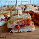 Parigina napoletana, finger food