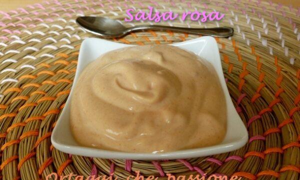 Salsa rosa o salsa cocktail