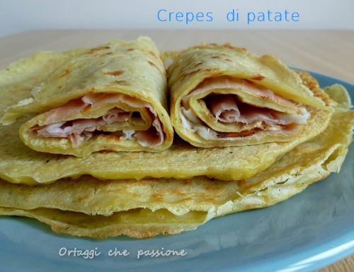 Crepes di patate crude