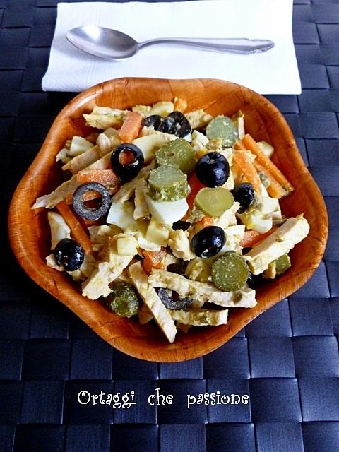 Insalata di pollo e carote Ortaggi che passione by Sara
