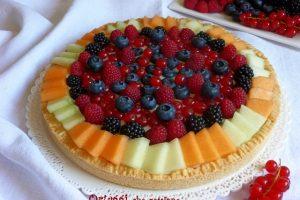 ricetta crostata di frutta, ricetta senza gelatina con frutti di bosco