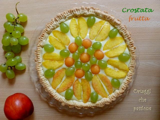 Crostata alla frutta Ortaggi che passione by Sara