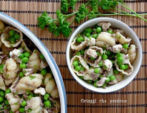 Pasta fredda con carne macinata