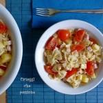 Pasta fredda patate e pomodori