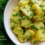 Patate prezzemolate in insalata