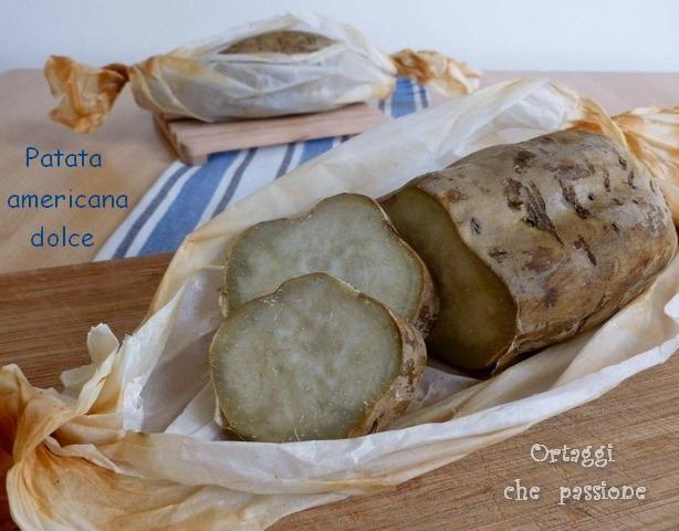 Patata dolce americana bianca ricette e vari tipi di cottura - Cucinare patate americane ...