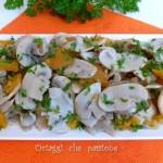 Funghi e zucca, contorno o sugo pasta