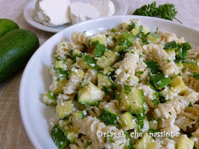 Pasta ricotta e zucchine ricetta light Ortaggi che passione by Sara