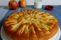 Torta di mele e yogurt, ricetta