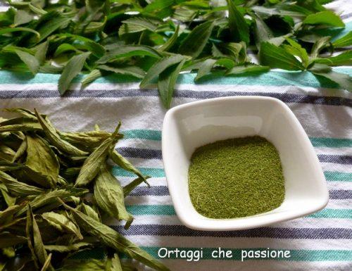 Stevia, usi e coltivazione