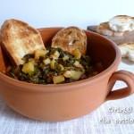 Zuppa con cavolo nero e patate