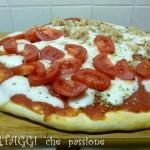 Pizza con farina di Kamut (grano Khorasan)
