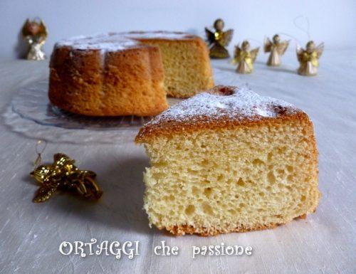Torta Pandoro, ricetta semplice