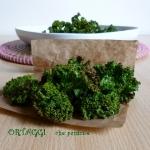 Chips di cavolo riccio – Kale chips super