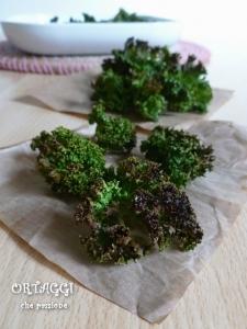 Chips di cavolo riccio - Kale