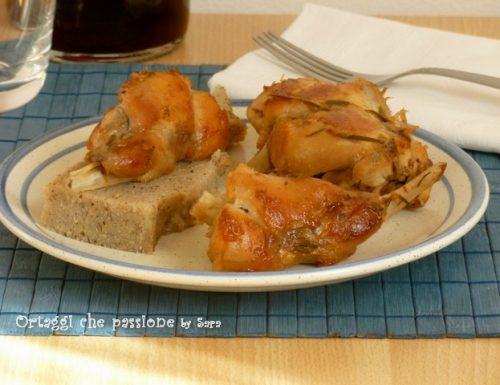 Coniglio arrosto in padella, ricetta