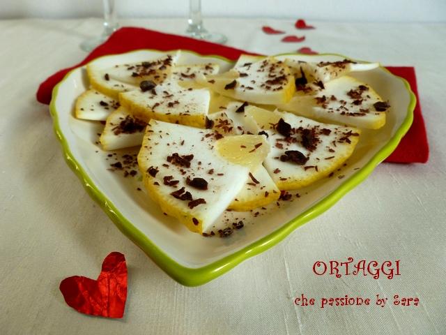 Insalata dolce di cedro e cioccolato Ortaggi che passione by Sara