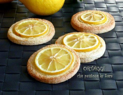 Biscotti con limone Lemon cookies