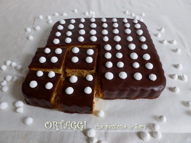 Quadrotti arancia e cioccolato  Ortaggi che passione by Sara