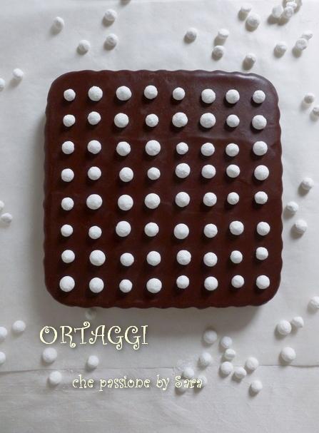Quadrotti arancia e cioccolato  Ortaggi che passione Sara
