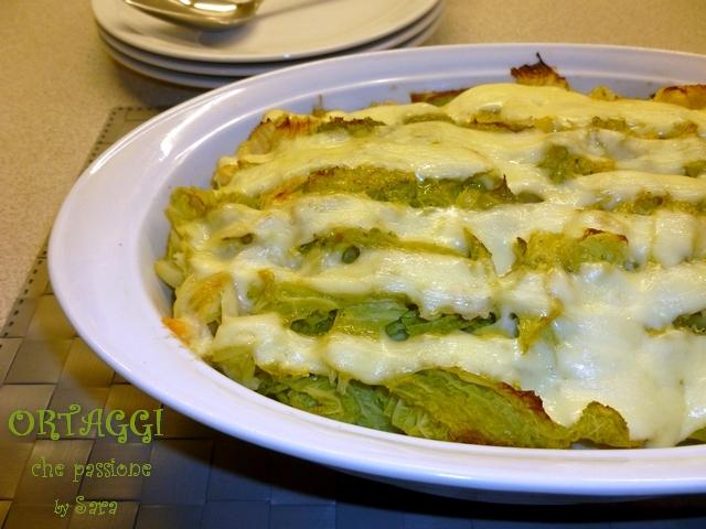 Sformato di patate e verza ricetta ortaggi che passione for Cucinare wurstel al forno
