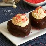 Muffin cacao farciti senza glutine