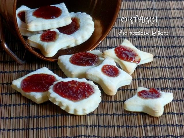 Biscotti ricotta e marmellata senza uova  Ortaggi che passione by Sara