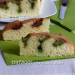 Torta soffice alla panna con crema