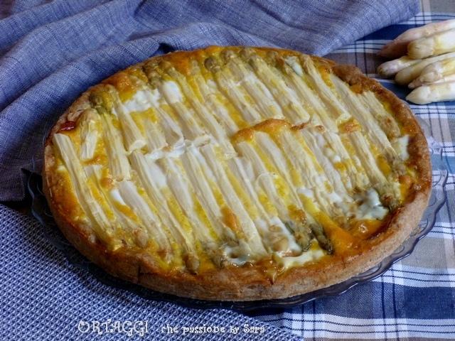 Torta salata asparagi e speck Ortaggi che passione by Sara