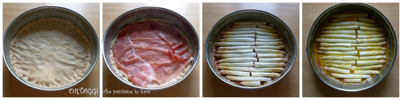 Torta salata con asparagi e speck Ortaggi che passione by Sara