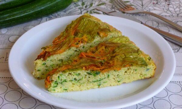Frittata al forno con zucchine