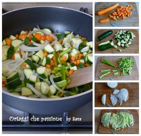 Verdure saltate con salsa di soia Ortaggi che passione by Sara