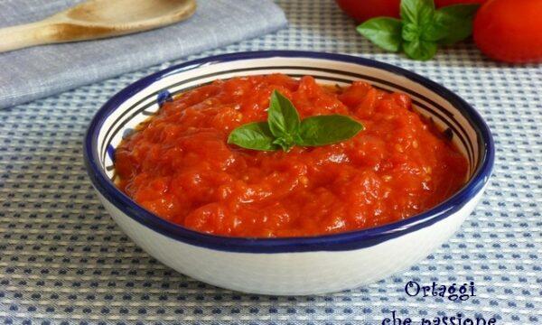 Sugo di pomodoro fresco, ricetta base