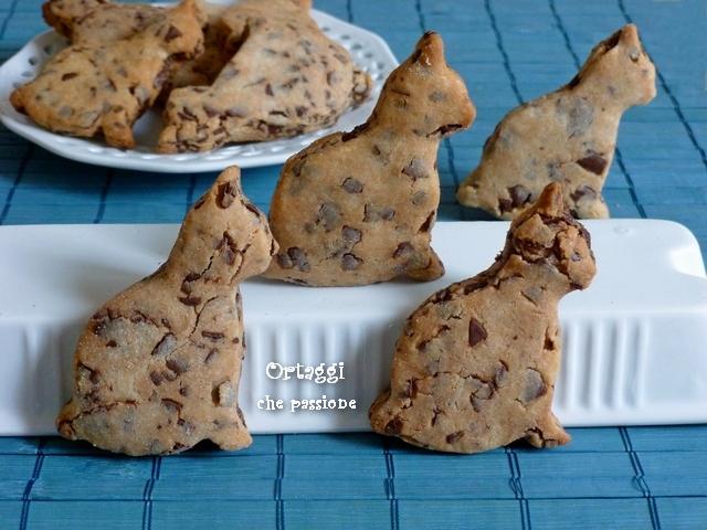 Biscotti di riso al cioccolato Ortaggi che passione by Sara