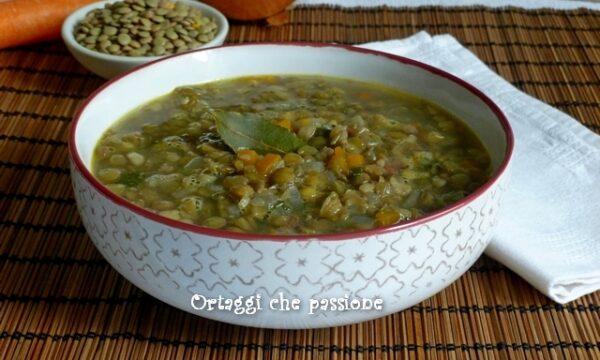 Zuppa di lenticchie – saporita e light