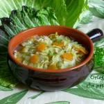 Zuppa di verza e carote- ricetta