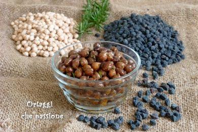 CECI NERI – ammollo e cottura – ricette
