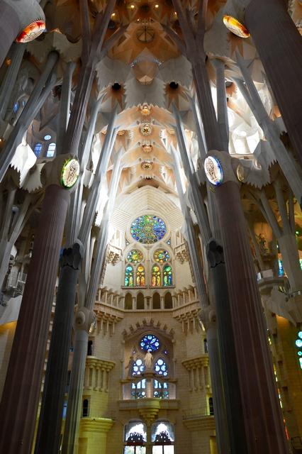 Sagrada Família Barcellona Ortaggi che passione